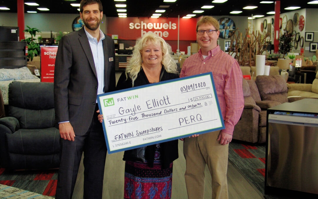 Woman Wins $25K in Sweepstakes Sponsored by PERQ